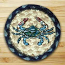 Blue Crab Jute Coaster