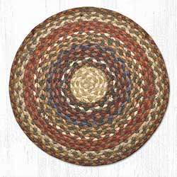 Honey, Vanilla, and Ginger Braided Jute Chair Pad