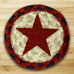 Red Star Jute Coaster