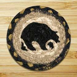 Bear Jute Coaster