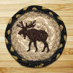 Moose Jute Coaster