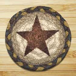Gold Star Jute Coaster