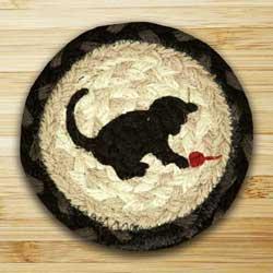 Kitten Jute Coaster