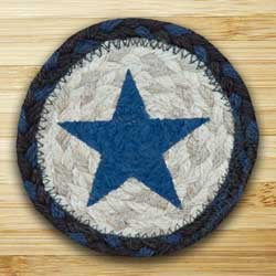 Blue Star Jute Coaster