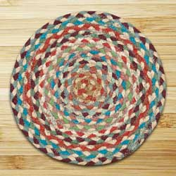 Multi 1 Braided Tablemat - Round