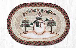 Moon Snowman Star Placemat