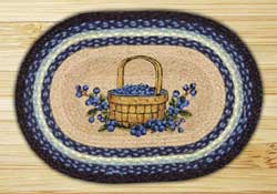 Blueberry Basket Braided Placemat