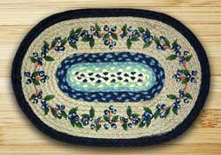 Blueberry Vine Braided Placemat
