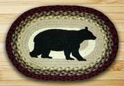Cabin Bear Braided Placemat