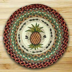 Pineapple Printed Chair Pad
