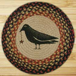 Crow & Star Printed Chair Pad