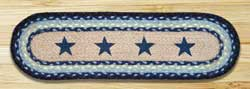 Blue Stars Printed Stair Tread