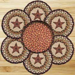 Barn Star Braided Trivet Set