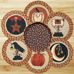 Autumn Braided Trivet Set