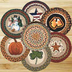 All Season Braided Trivet Set