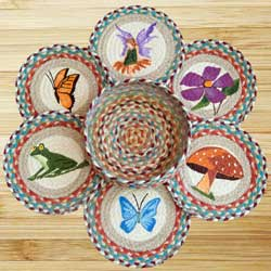 Fairy Braided Trivet Set