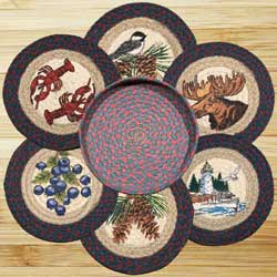 New England Braided Trivet Set