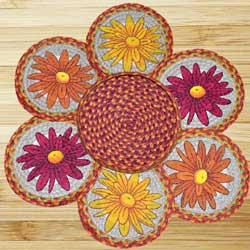 Mums Braided Trivet Set