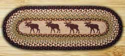 Moose Braided Jute Tablerunner - 48 inch