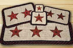 Barn Star Wicker Weave Trivet