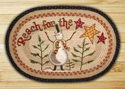 Reach for the Stars Braided Jute Rug
