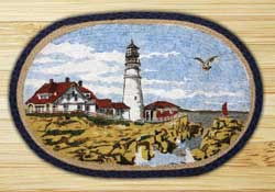 Portland Headlight Braided Jute Rug