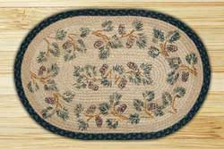 Pinecone Braided Jute Rug