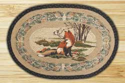 Fox Braided Jute Rug