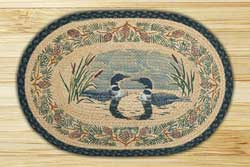 Loon Face to Face Braided Jute Rug