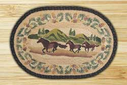 Mountain Horse Braided Jute Rug