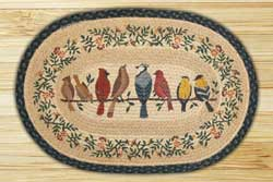 Birds On A Wire Braided Jute Rug